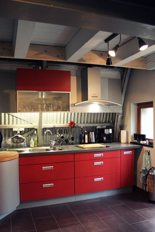 Red Hot Kitchens - Style Estate -