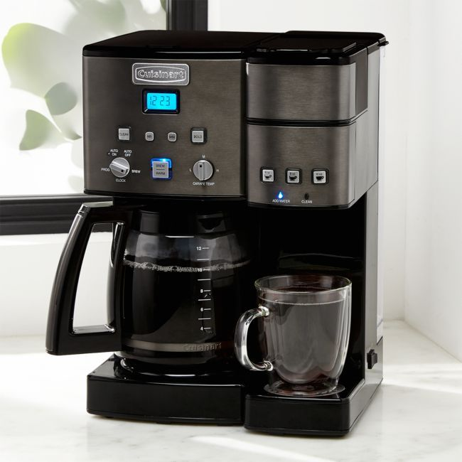 Cuisinart Combi Kcup Carafe Brewer Black Stainless Coffee Maker Drip Coffee Maker Miele Coffee Machine