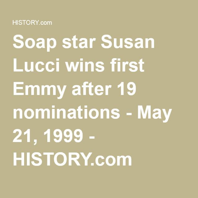 Image result for susan lucci wins daytime emmy
