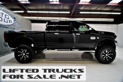 2012 ram 2500 mega cab laramie longhorn diesel 4x4 lifted truck lifted dodge ram trucks for. Black Bedroom Furniture Sets. Home Design Ideas