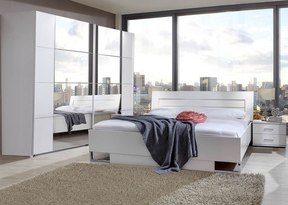 Qmax \'Davina\' Range German Made Bedroom Furniture. White ...