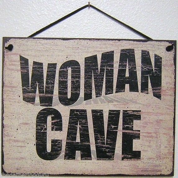 Wooden Decor Signs Impressive Woman Cave Sign House Women Girl Room Wood Decor Den Hobby Sewing Design Ideas