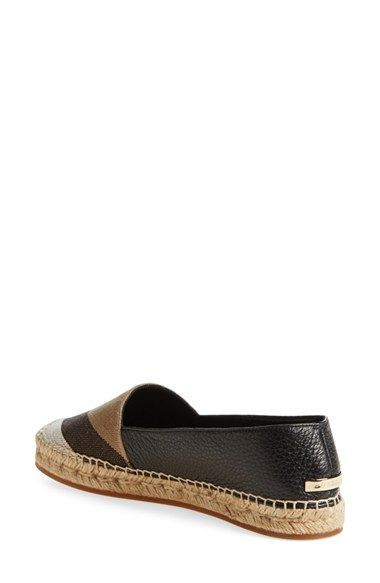 b7cf2de67c6 Burberry Espadrille | In a perfect world, Shoe me some love i bag ...