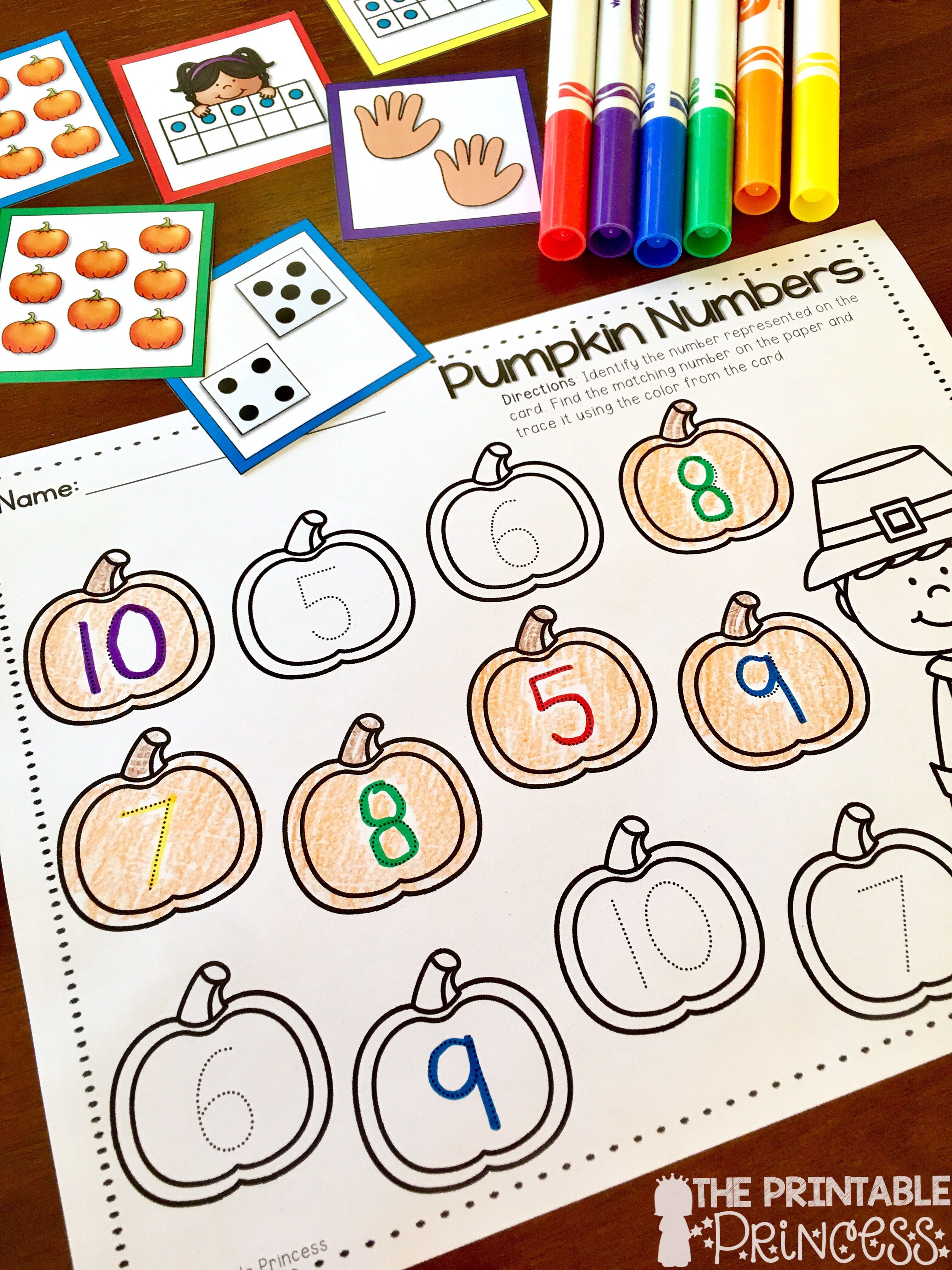 Check Out These Fun Fall November Thanksgiving Math And