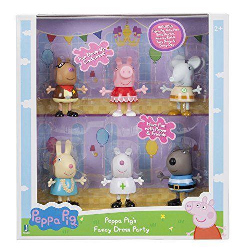 Peppa Pig 92602 Fancy Dress Party Toy Figure   Peppa pig