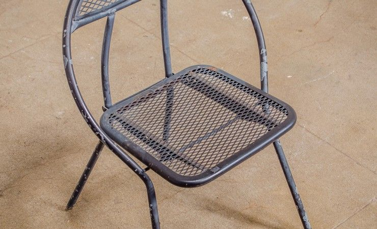 Round Metal Chair 95 These Chairs Are Exquisite The Simplicity