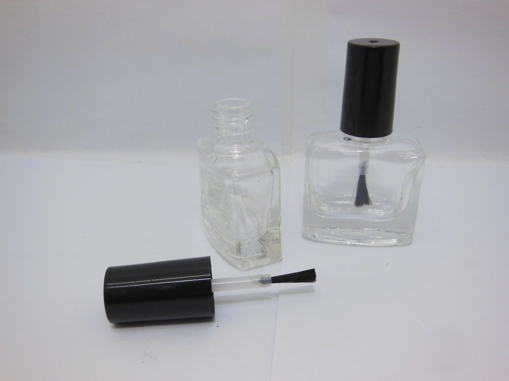 130Sets Oblong Empty Glass Nail Polish Bottle 9ml | Ebay | Pinterest ...