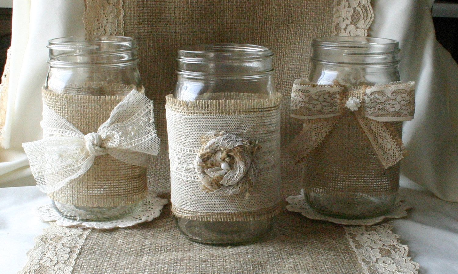 Wedding decorations ideas at home  Chic Rustic Wedding Decoration Ideas   wedding decorations