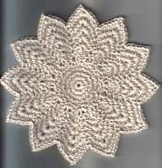 12 point round dishcloth free pattern crochet pinterest free 12 point round dishcloth crochet dishcloth patternscrochet potholders knitted dt1010fo
