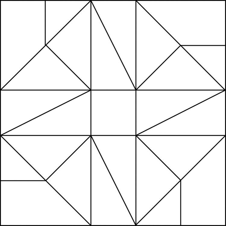 Free Simple Mosaic Coloring Pages 1 Barn Quilt Patterns Mosaic Patterns Pattern Coloring Pages