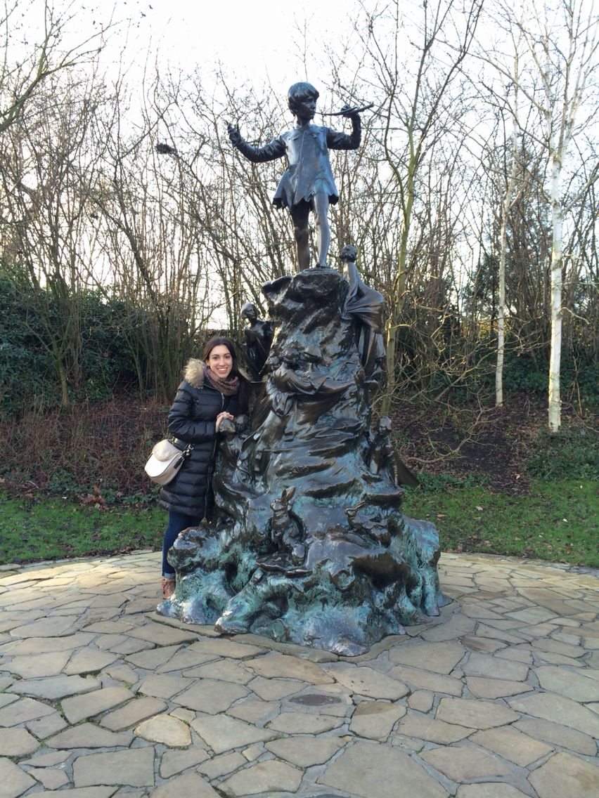 After borough market , Taylor and I took a stroll through Kensington Gardens and of course we had to take a picture with Peter Pan before leaving. It was a lovely afternoon and we are all so tired.