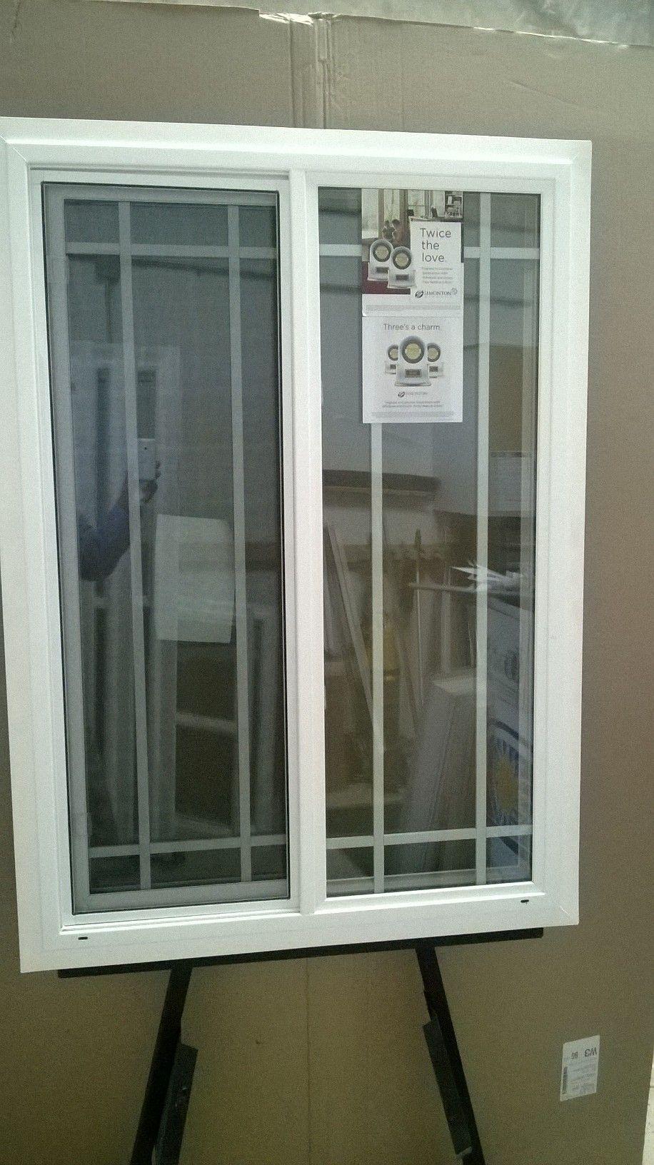 Window 49 Simonton Xo Slider Perimeter Flat Grids Retrofit White 30 3 4 X 44 1