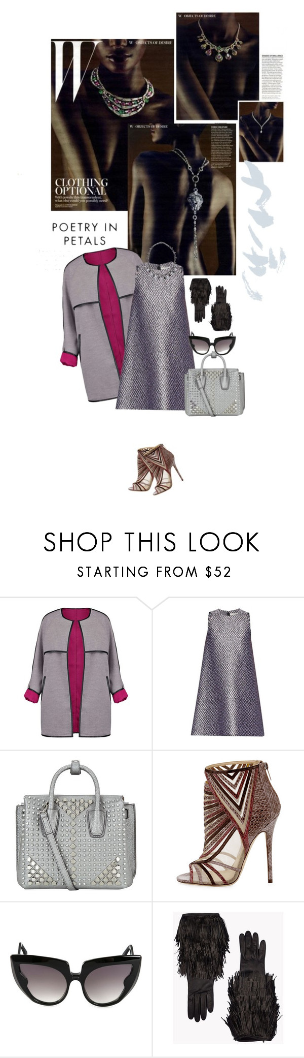 """Título 11"" by drigomes ❤ liked on Polyvore featuring Boohoo, Balenciaga, MCM, Jimmy Choo, Barn's, Dsquared2 and Bottega Veneta"