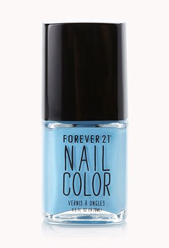 Dusty Blue Nail Polish