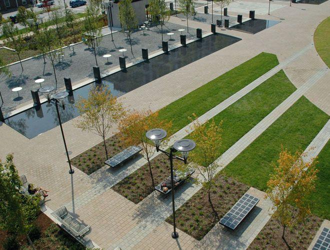 Nashville Public Square Progettazione Del Paesaggio Parco Urbano Spazi Pubblici