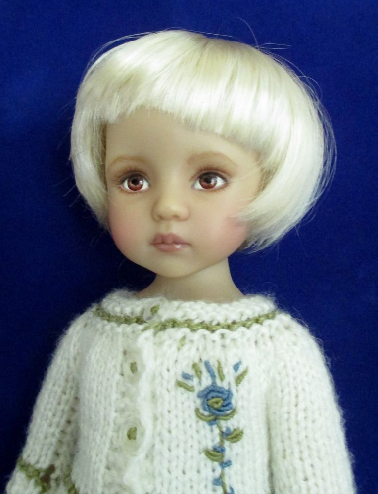 Monique Bubbles Wig 7/8 for Effner Little Darling Minifee Volks MSD Honey Blonde #Monique