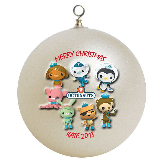 Personalized Octonauts Christmas Ornament by GiftsFromHyla on Etsy ...