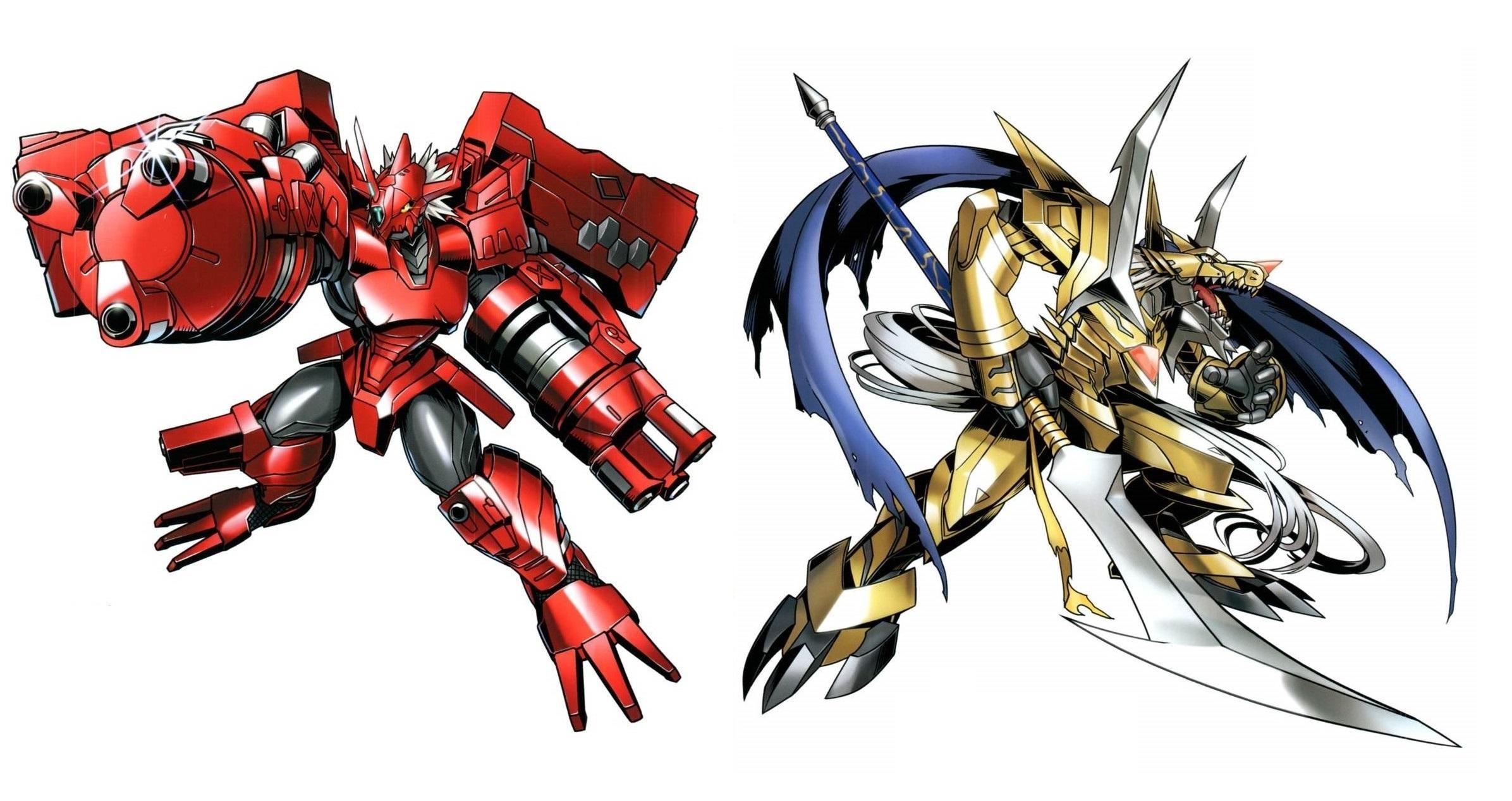 Blitzgreymon And Cressgarurumon Digimon Digimon Digimon Digital Monsters Digimon Wallpaper