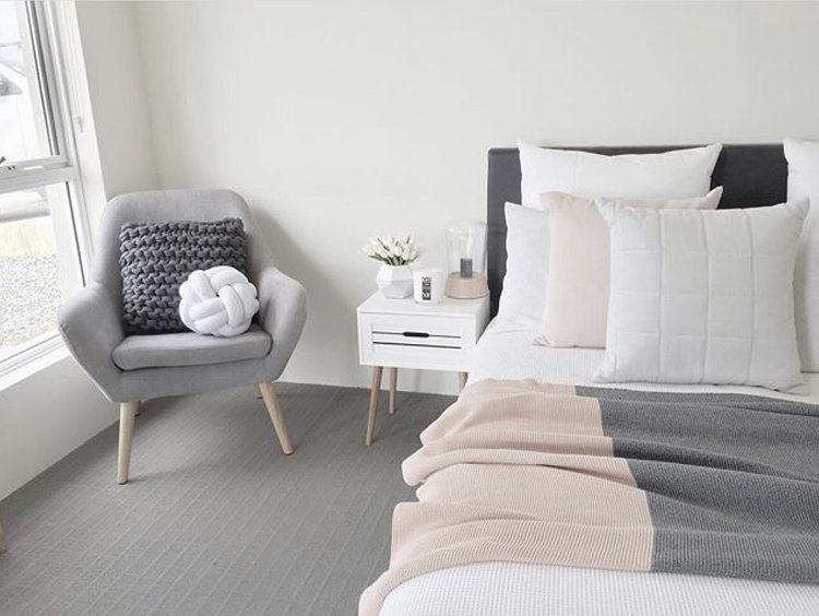 Blush White And Grey Bedroom Inspiration Gray Bedroom Bedrooms And Gray
