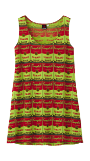 I'm digging the Andy Warhol Campbell tank top from UNIQLO's UT Collection.