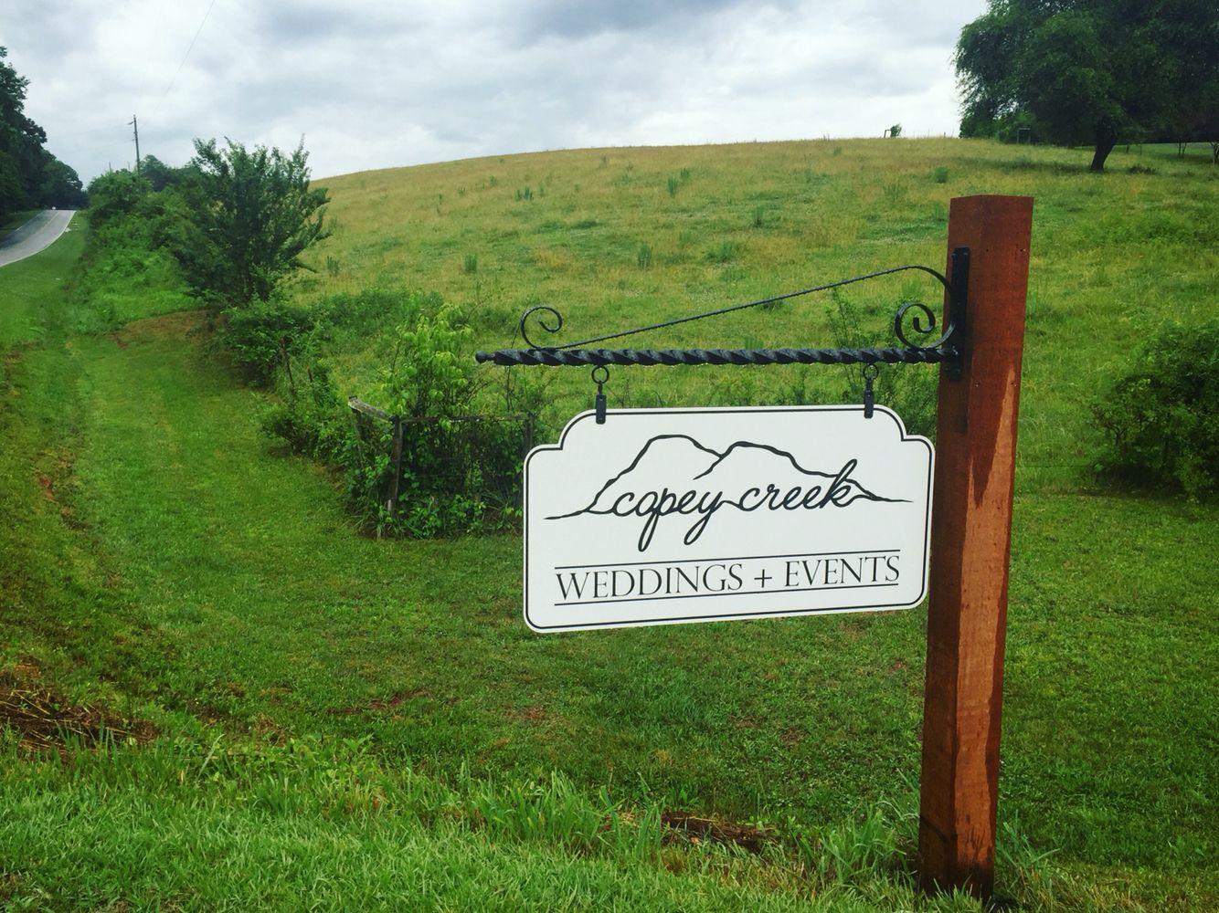North Georgia Mountain Wedding Barn Copey Creek Farm