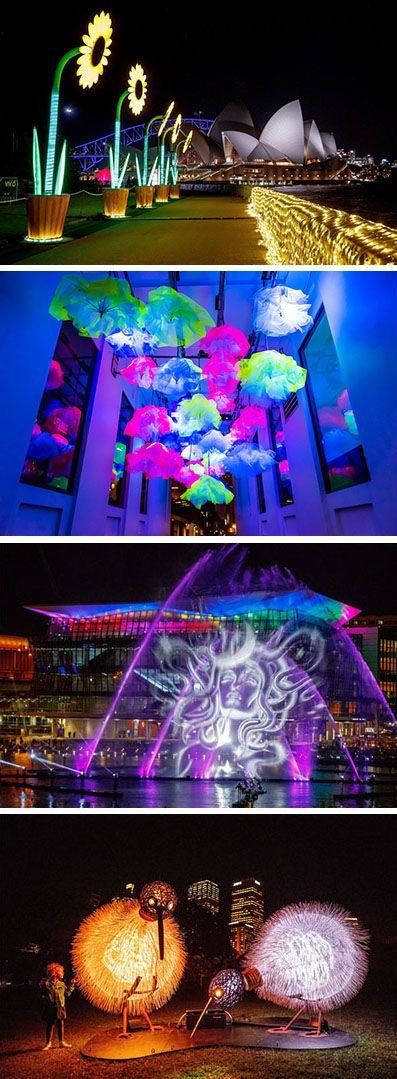 VIVID Sydney Lights Up The City With Colorful Installations And Projections
