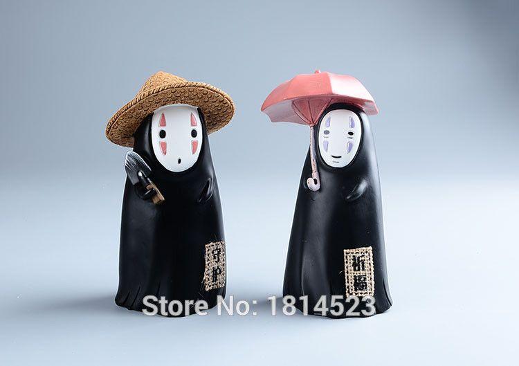 Japanese Anime Ghibli Kaonashi No Face money piggy 16cm Action Figure Juguetes Brinquedos Amine Toys child gift #1151