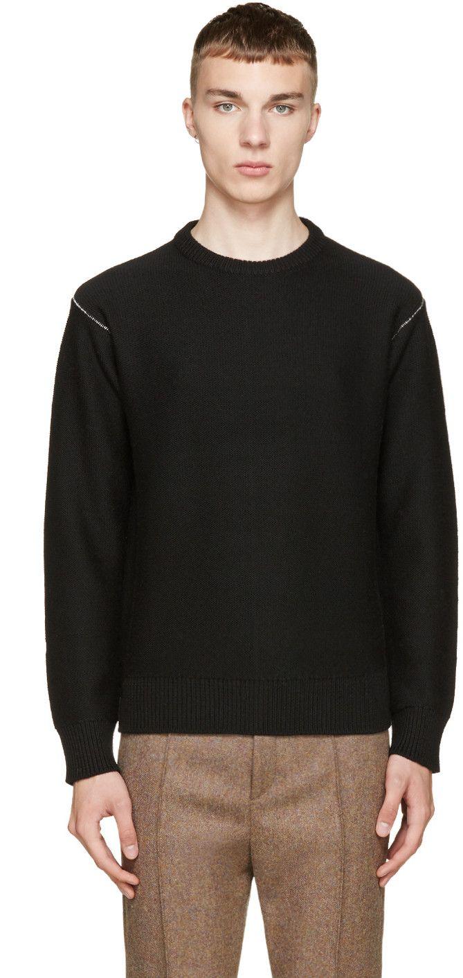 RAG & BONE Black Wade Sweater. #ragbone #cloth #sweater