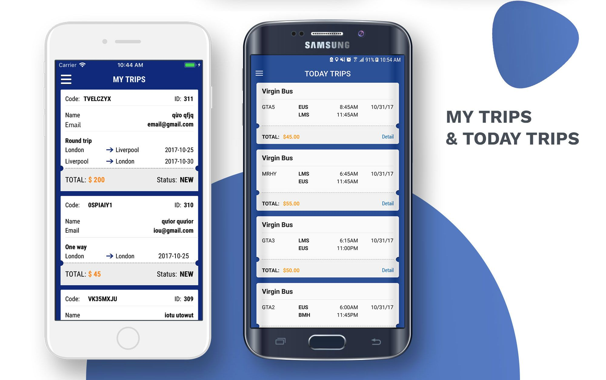 Blue Bus Ticket Booking Android App Template By Hicomsolutions Ad Ticket Ad Bus Blue Booking App Template Bus App Scheduling App