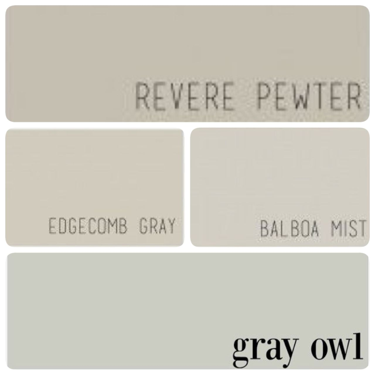 Revere Pewter For Living Room Dining Room And Kitchen Edgecomb Gray For Master Bedroom