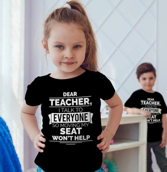 Download Dear Teacher I Talk To Everyone So Moving My Seat Won't ...