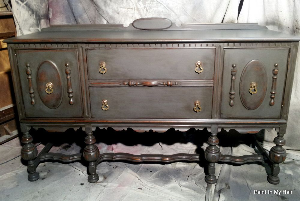 Graphite French Linen Annie Sloan Chalk Paint Wax And