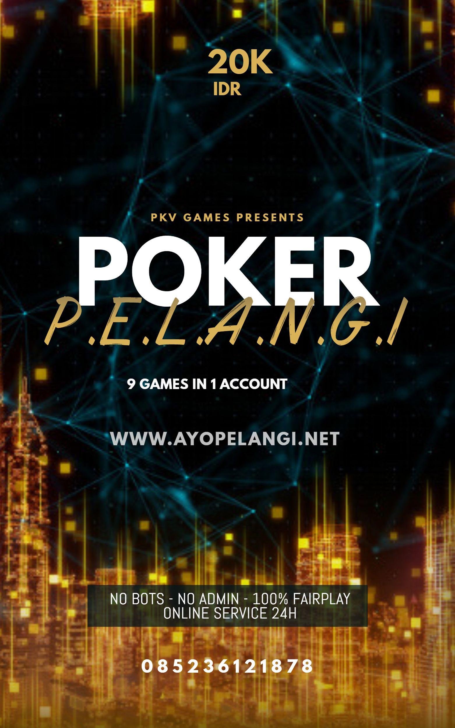 GAME ONLINE POKERPELANGI di 2020 | Game, Poker