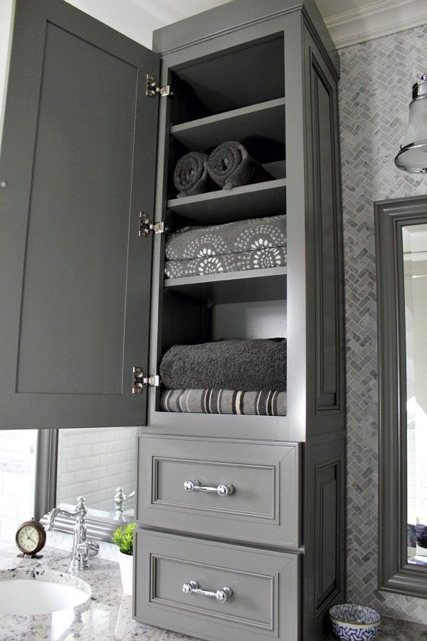 Bathroom Cabinet Decor Ideas