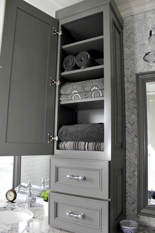 Bathroom Cabinet Decor Ideas