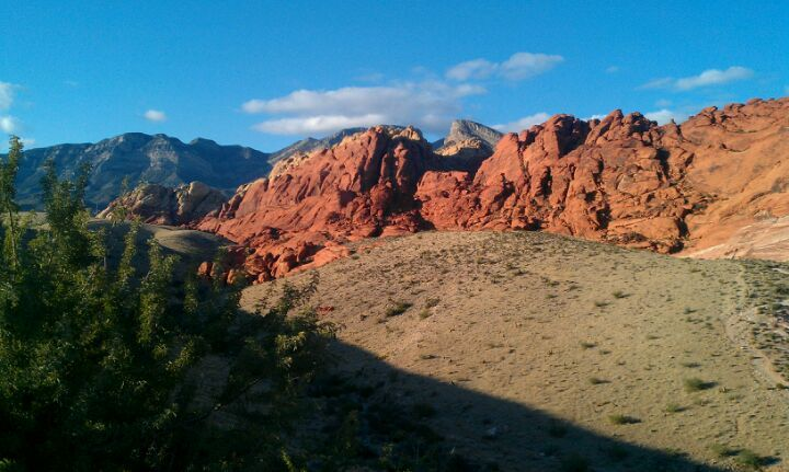 Red Rock Canyon National Conservation Area in Las Vegas, NV