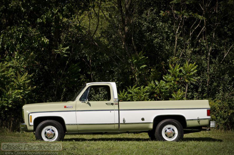 FEATURE 1974 GMC Sierra 2500 Camper Special Gmc sierra