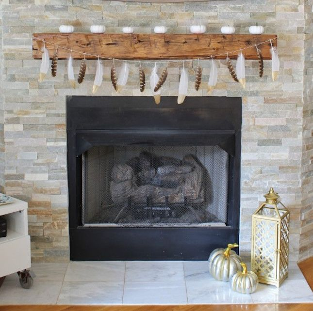 13 Halloween Mantels to Give You Serious Decor Inspo Mantels and