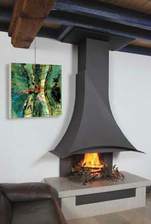 CF D Gallery | Custom Fireplace Design · Open FireplaceFireplace  DesignFireplace IdeasDesign ...