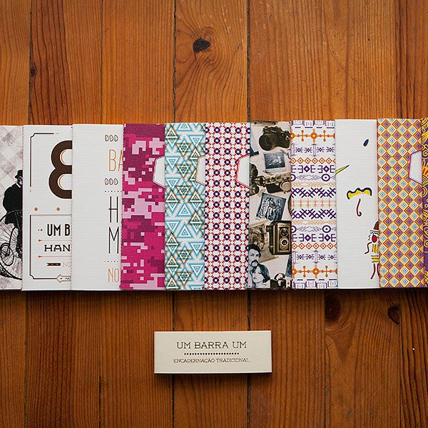 """A 1/1 é um projecto 100% português (da cidade de Coimbra) de concepção e criação de cadernos personalizados com encadernação tradicional.Este projeto tem o intuito de estabelecer uma relação entre o design, a concepção, o produto e a encadernação tradicional.Todos os cadernos pertencem a edições limitadas. As ilustrações são baseados no conceito """"orgânico"""" que envolve o respeito pelas propriedades dos materiais e da relação harmoniosa entre a forma/design em função do caderno."""