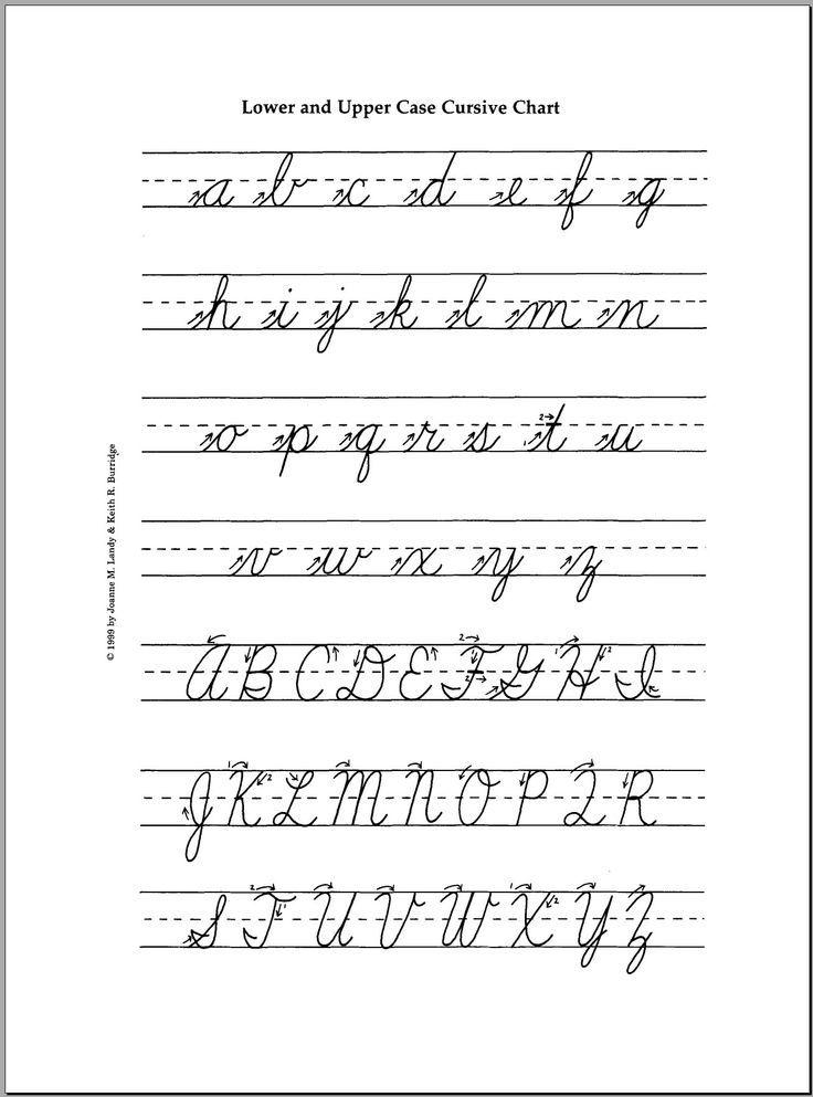 Preschool Cursive Letters Worksheets & Printables