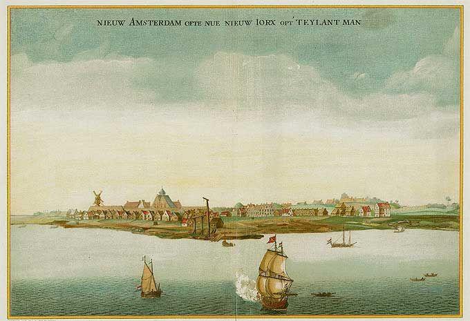 The Colonial Dutch on Long Island N.Y. | ... - New Amsterdam now New York on the Island of Manhattan 1650-53