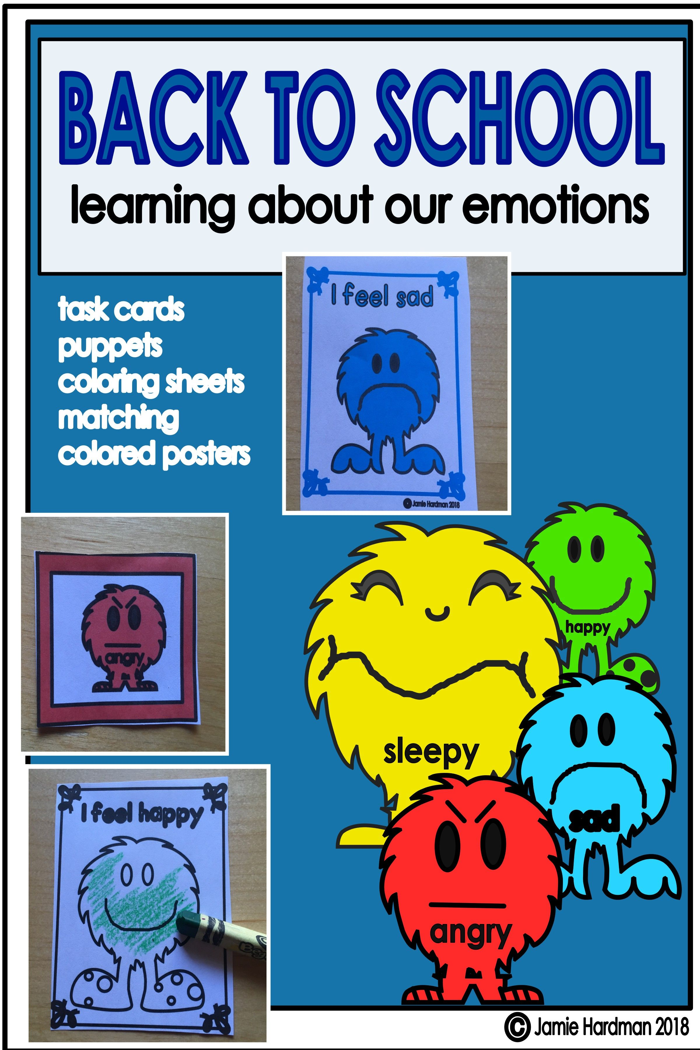 Emotions And Feelings Activities