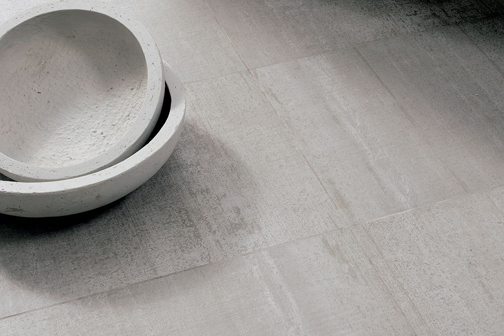 Brushed #concrete for contemporary architecture: LegnoCemento