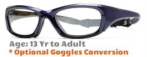 b48d9706748 Rec Specs Maxx 30 Shiny Navy Blue Prescription Sports Glasses ...