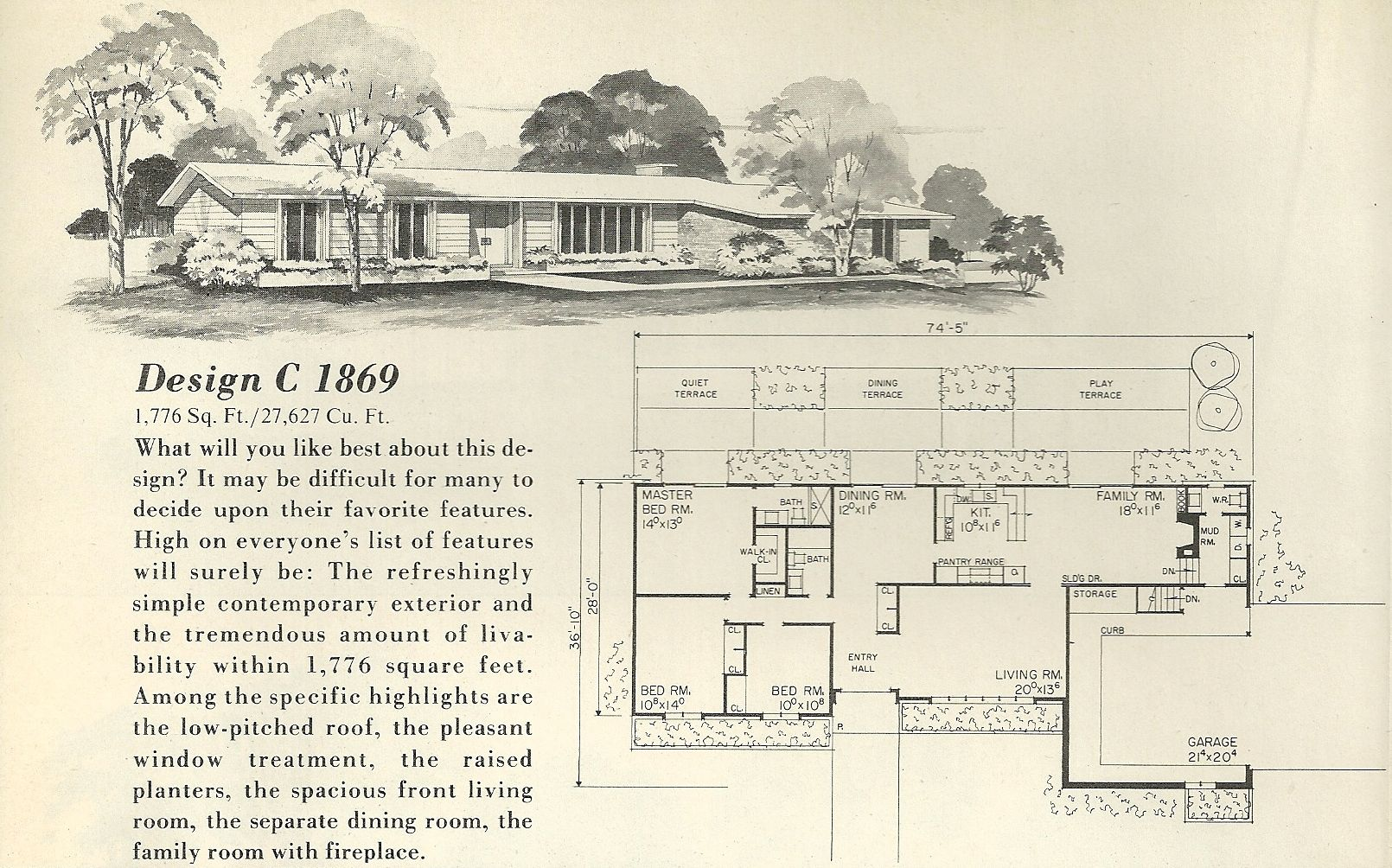 Retro Ranch Floor Plans | ... Plans as well Ranch House ...