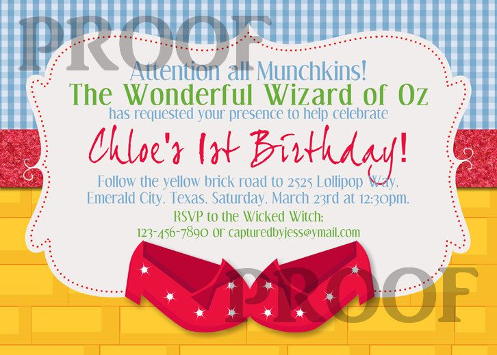 Wizard Of Oz Birthday Invitation By Capturedbyjessprints On Ets Free Printable Birthday Invitations Printable Birthday Invitations Cowboy Invitations Birthday