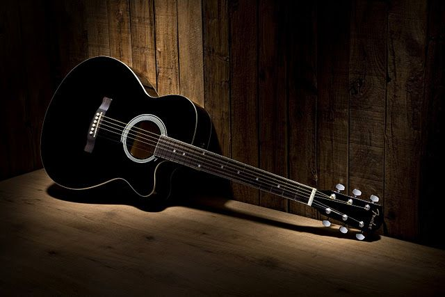 Guitar Wallpaper Black And White Fender Fa 130 Acoustic Guitar Cutaway Old Wood Background Gitar Akustik Akustik Gitar