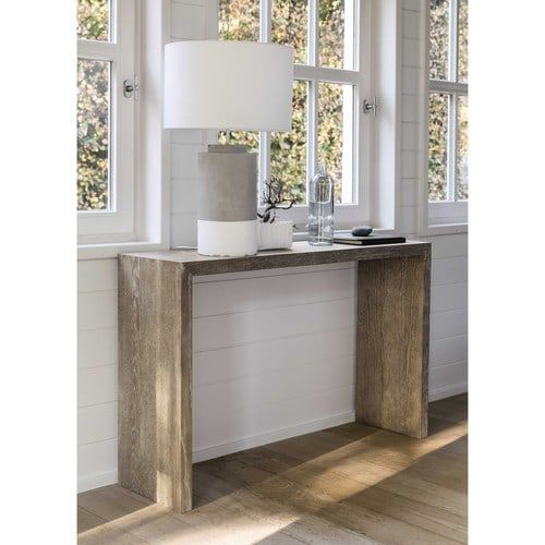 Consola de madera blanca An. 130 cm - Baltic