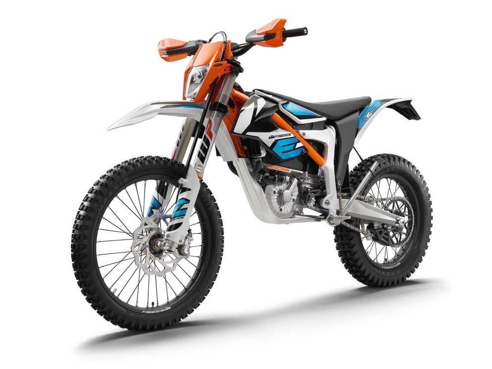 Ktm Unveils New 2018 Freeride E Xc Electric Motocross Bike With 50